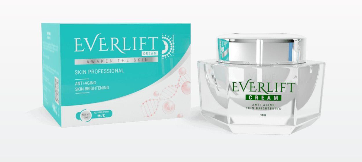 Everlift Cream – ดูอ่อนกว่าวัยขึ้นถึง 15 ปีพร้อมราคาพิเศษ 990 ฿!