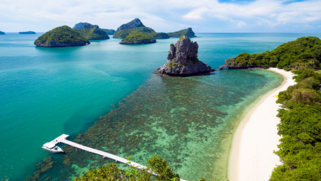ไทยเปิดเกาะรับนักท่องเที่ยวต่างชาติ
